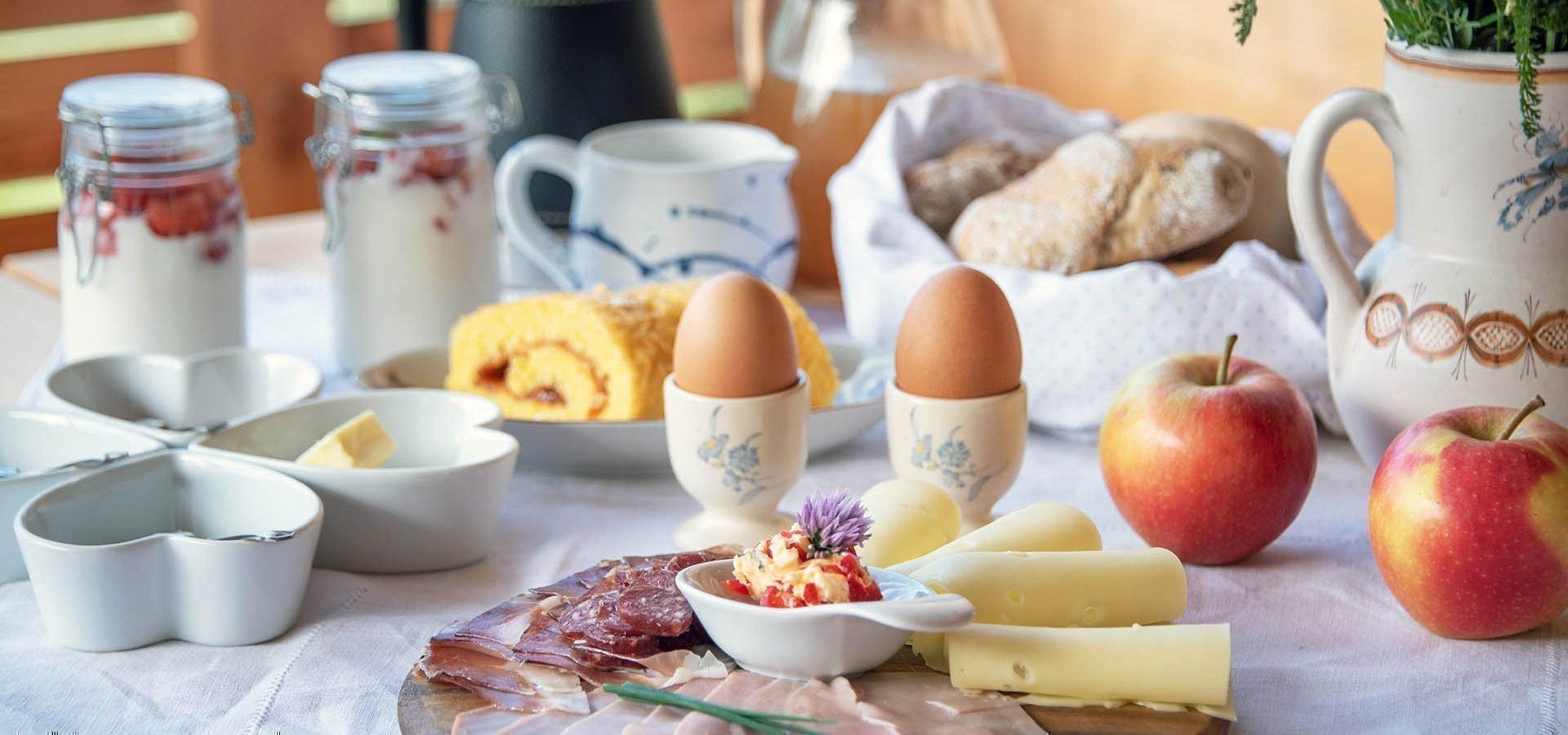 Urlaub auf dem Bauernhof mit Frühstück