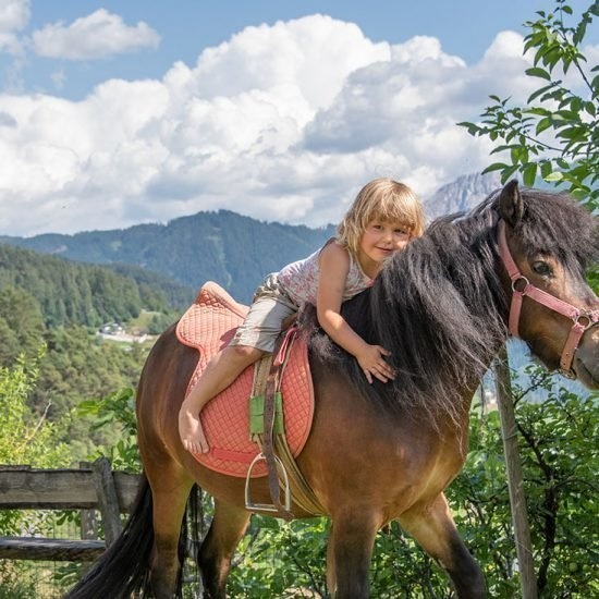 Children's holiday in South Tyrol on the farm in the Dolomites