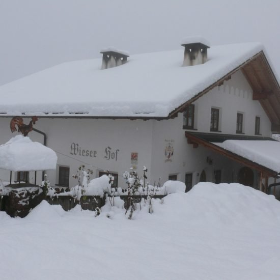 Impressions of Wieserhof in South Tyrol in Winter