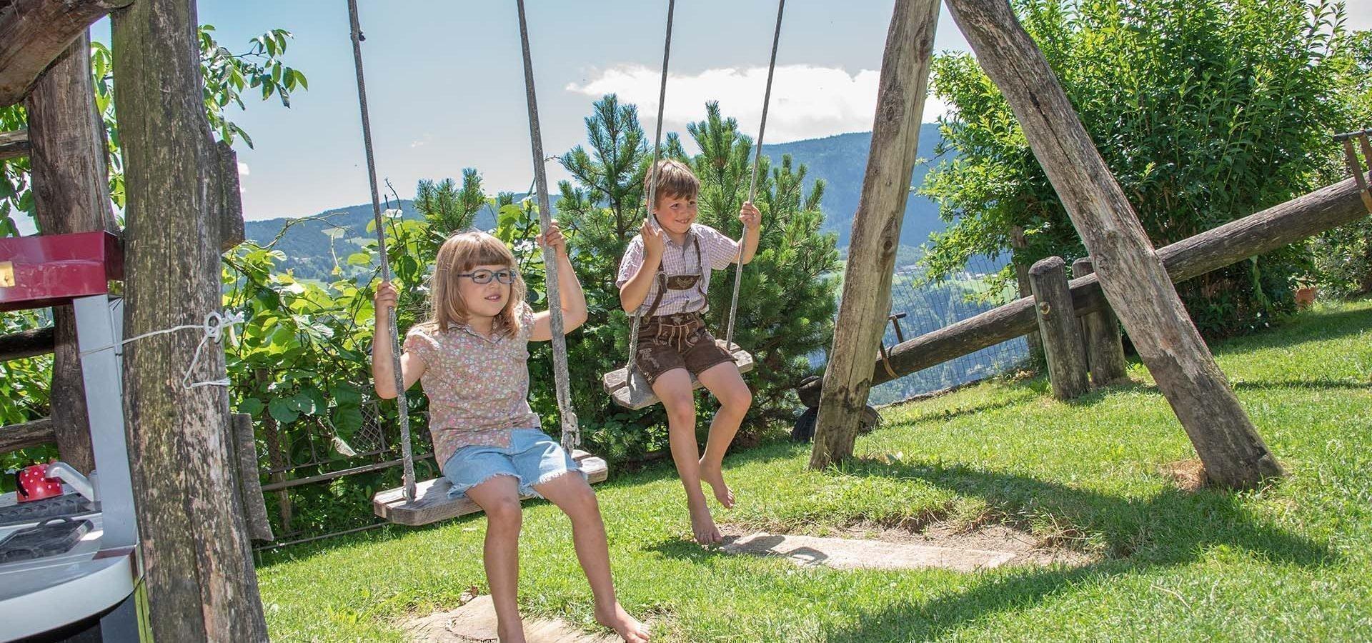 Kinderurlaub in Südtirol auf dem Bauernhof in den Dolomiten