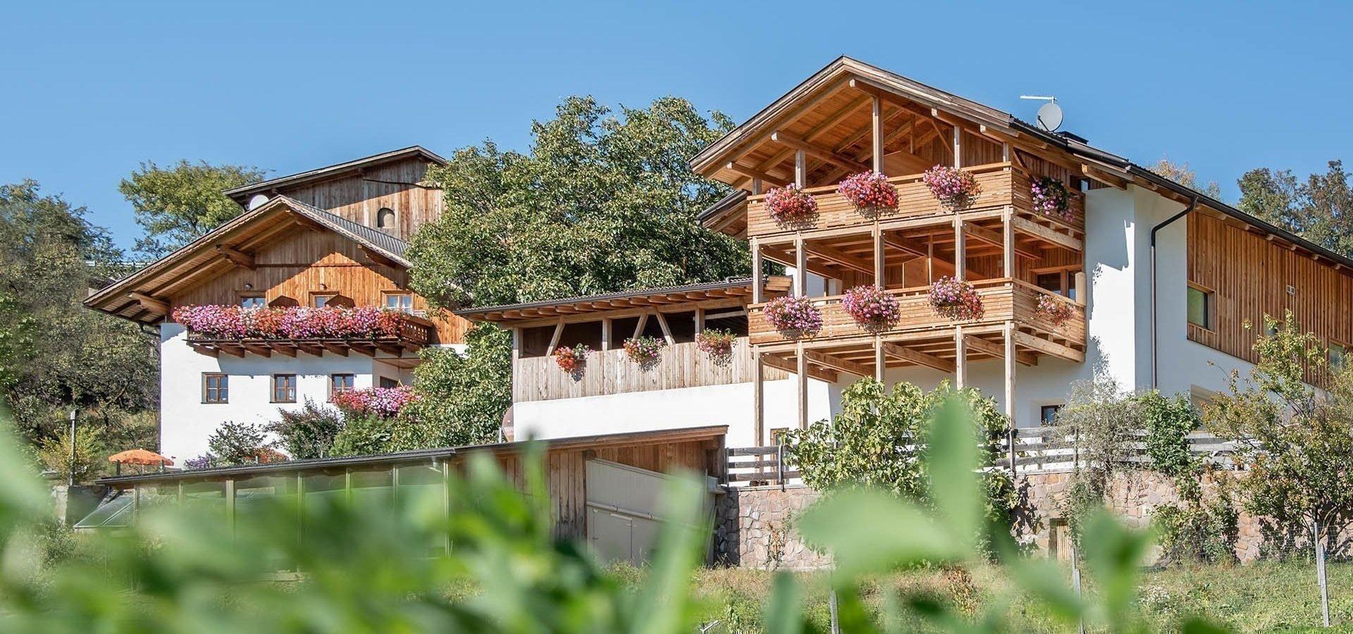 Urlaub auf dem Bauernhof Dolomiten