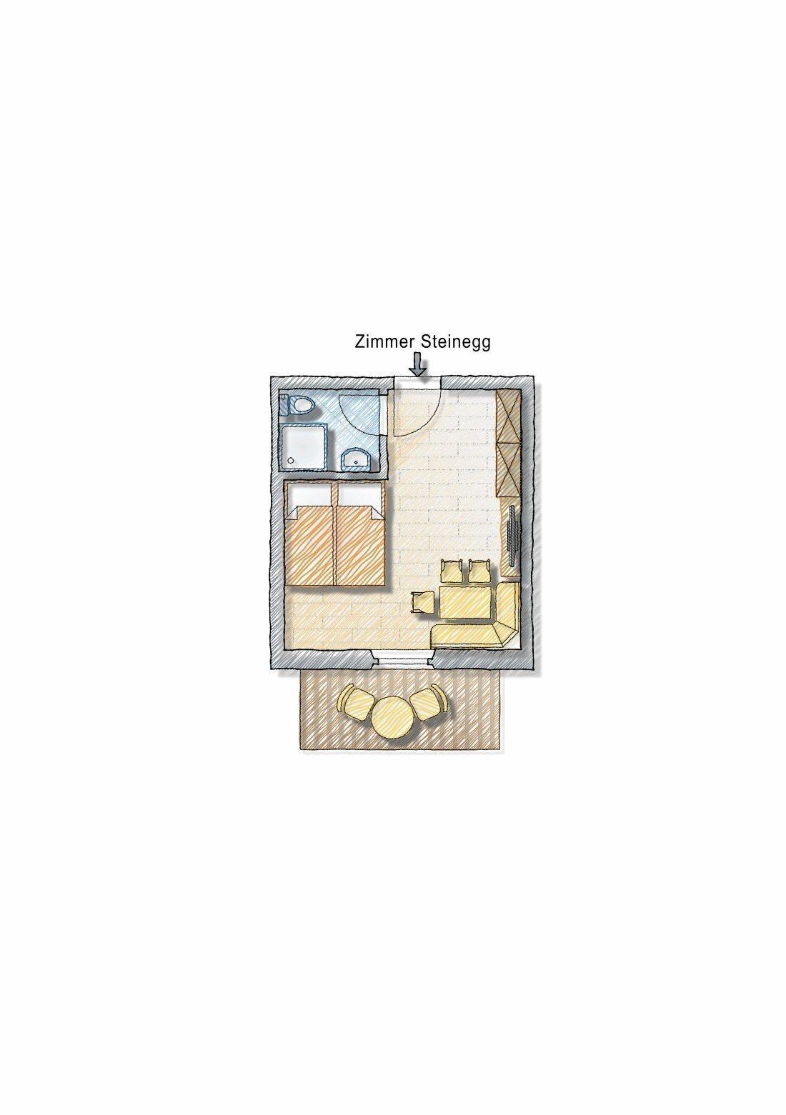 """Zimmer """"Steinegg"""""""